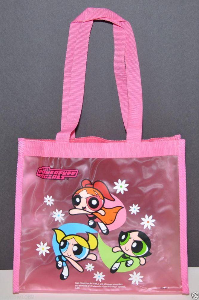 POWERPUFF GIRLS TOTE BAG VINYL BAG 10
