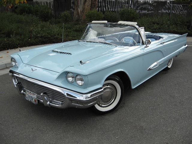59 Ford Thunderbird - Im thinking... Candy Apple Red would be nice