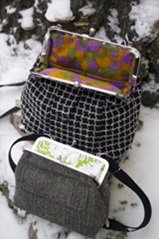 Womens and mens wintercoats have a new life as a bag.