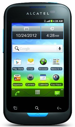 Alcatel Shockwave - No Contract Phone (U.S. Cellular)  https://topcellulardeals.com/product/alcatel-shockwave-no-contract-phone-u-s-cellular/  Display: 3.5-inches Camera: 3.2-MP Input: Touchscreen