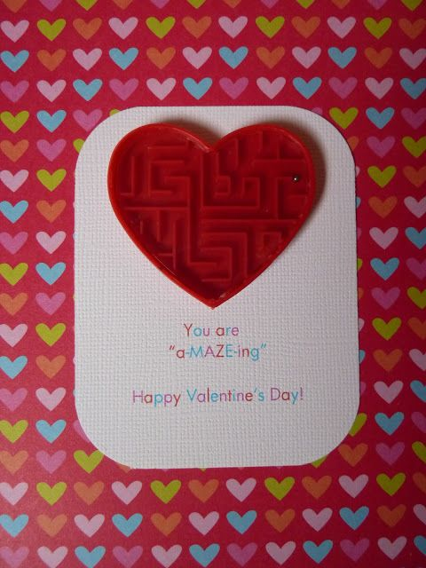 You are a-MAZE-ing: free Valentine Printable note cards