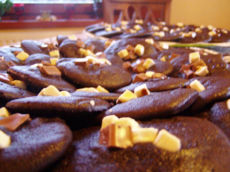 biscotti al cioccolato di marzapane