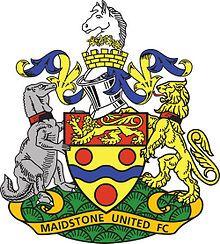 1992, Maidstone United F.C. (Maidstone, Kent, England) #MaidstoneUnitedFC #England (L13415)