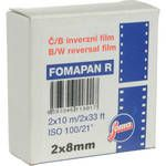 Foma Fomapan R100 Double Standard 8mm Black and White Transparency Film (10m) for standard (or double or regular) 8mm camera #photography #8mm #standard8 #regular8 #film #double8 #vintage #camera