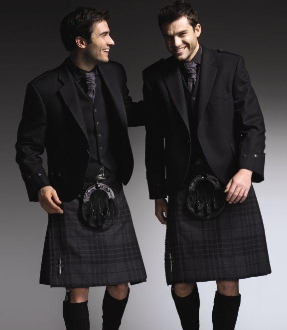 dark elegance in kilts