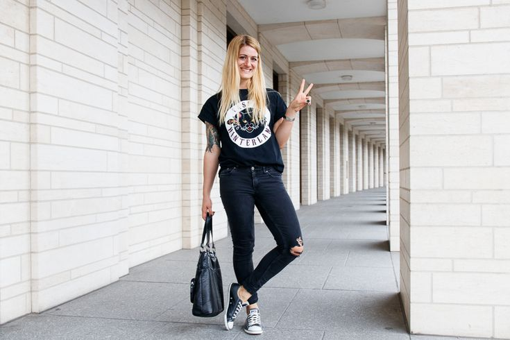 Streetstyle Destroyed Jeans Caper Hinterland