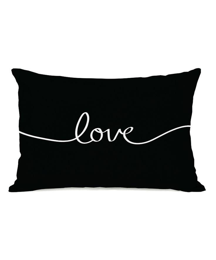 'Love' Throw Pillow