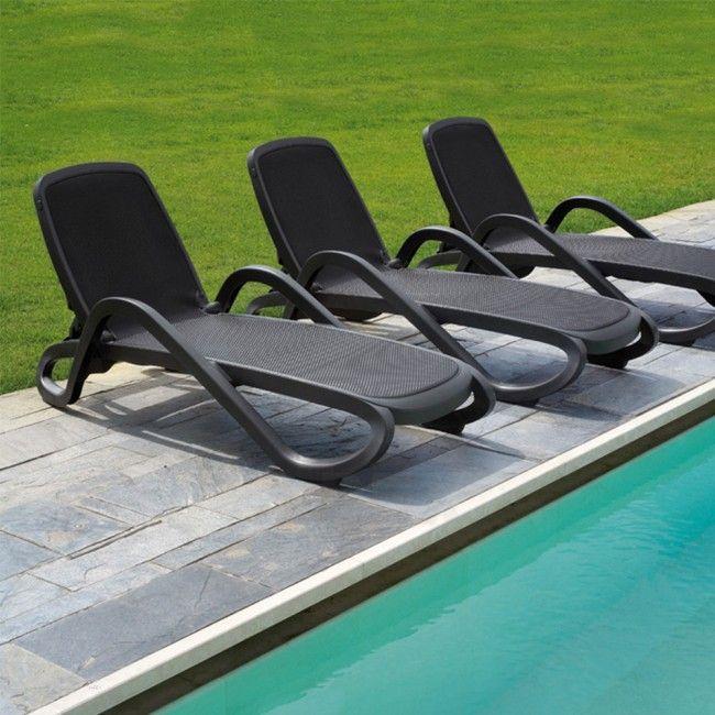 Atropos Outdoor Sun Lounge Reclining Stacking