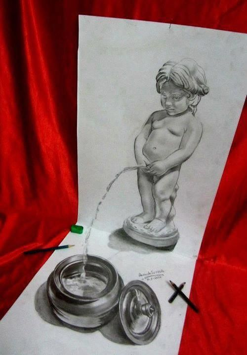 Amazing D Pencil Sketch See More Pictures SeeMorePictures - 29 incredible examples 3d pencil drawings