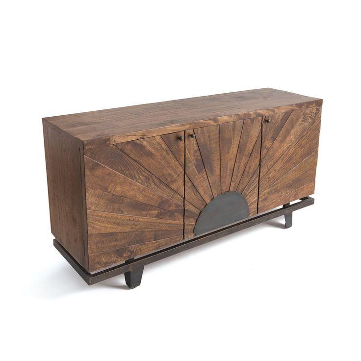 Halifax 3 Door Sideboard by GoHome Ltd. 21178 – The Rustic Furniture Store