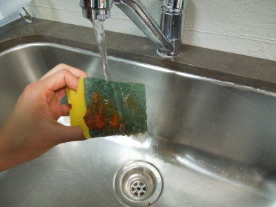 Cómo desinfectar esponjas y eliminar los gérmenes