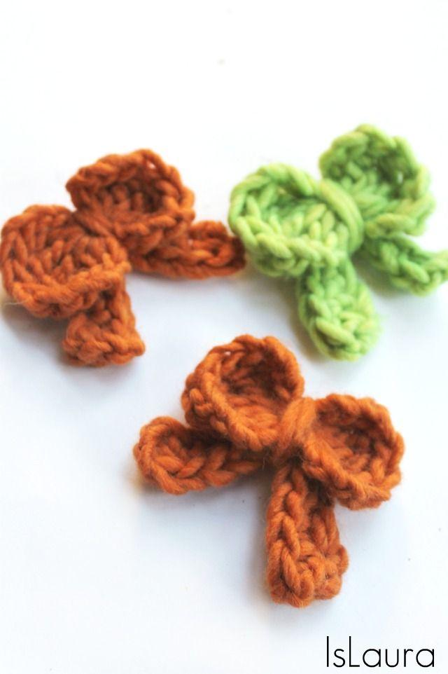 fiocchi a crochet spille