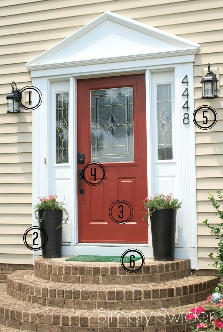 6 budget friendly ways to improve your front dooru0027s curb appeal
