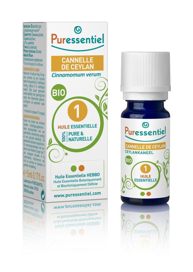 Recette fatigue physique ou psychique : 1 goutte d'huile essentielle de cannelle + 1 goutte d'huile essentielle de ravintsara trois fois par jour sur un comprimé neutre (sans dépasser deux semaines).