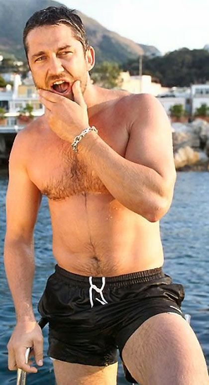 Gerard Butler - I think every woman would agree with me on this one