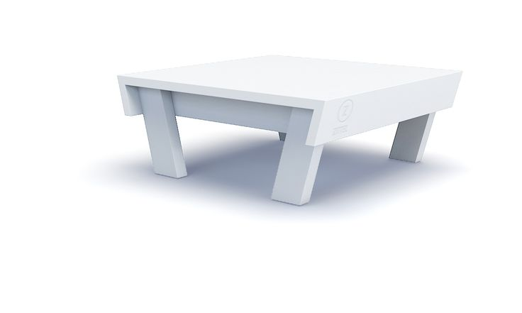 Loungetafel - Zittel  Een laag tafeltje, handig voor al je borrelgerei. Onmisbaar bij uitgebreide sessies. Zittel© maakt deze tafel lekker stevig en het blad is watervast verlijmd. Echt een aanwinst bij jouw loungeset.