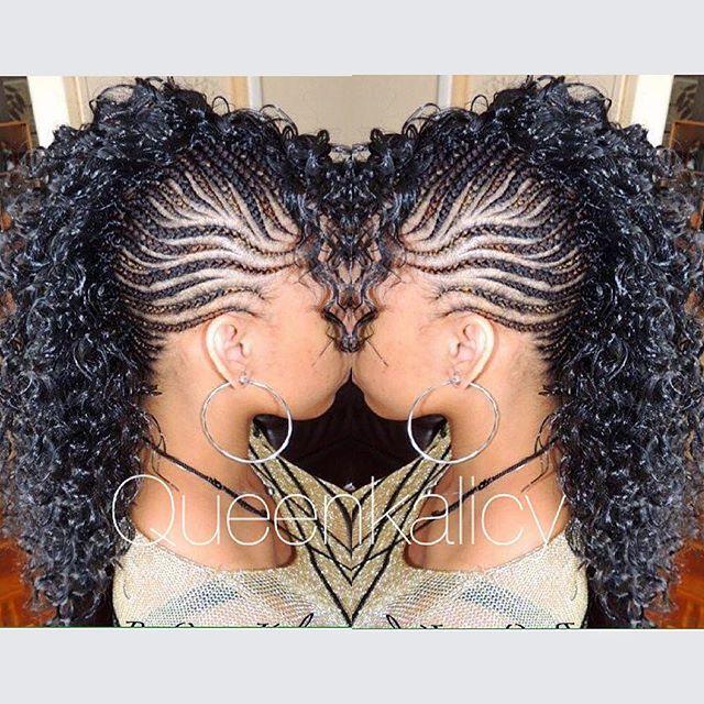 #braids #cornrows #crochetbraids #tresses #creation #queen_kalicy_hairtsyle #passion