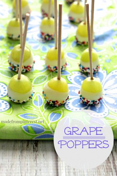 Grape Poppers MadeFromPinterest. Pinned over 1,000 times!