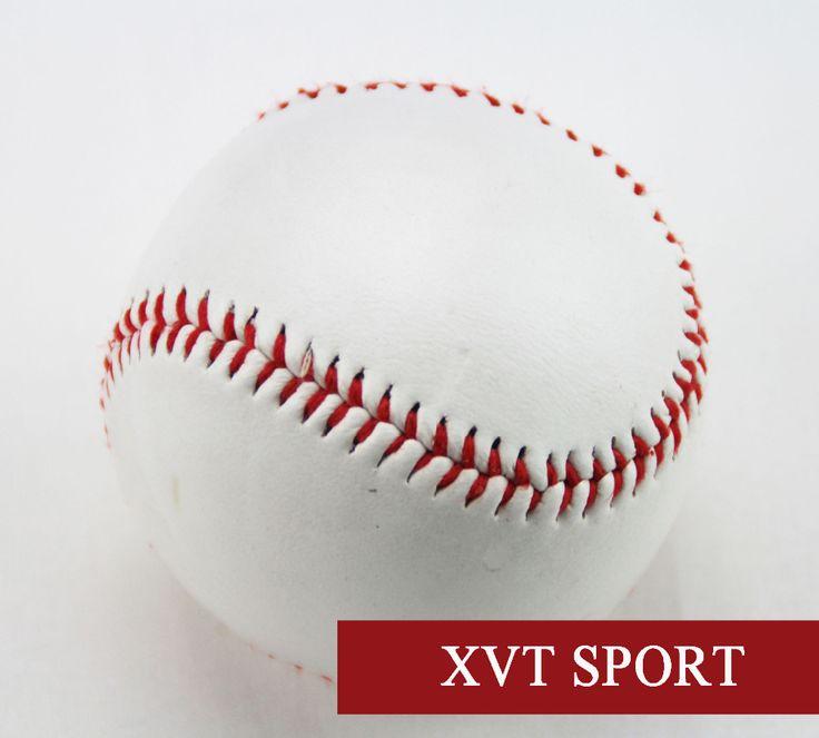 "XVT 고품질 1 개 9 ""새로운 화이트 자료 공 야구 연습 활동 PVC 소프트볼 & Hardball/믹스 코르크 고무 코어."