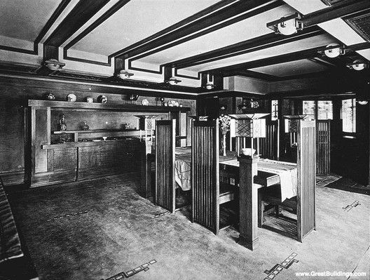 31 best frank lloyd wright, robie house (1906-1909) images on