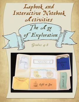 Lapbook/Interactive Notebook for The Age of Exploration