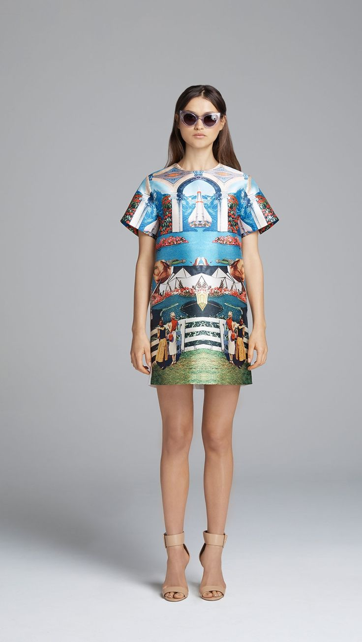 """Alchemy"" T-Shirt Dress by Alice McCall $260.00  | SOURCE: http://www.alicemccall.com/alchemy-t-shirt-dress.html"