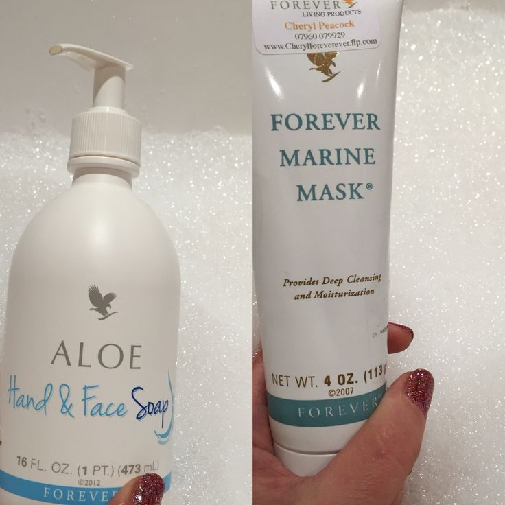 Love these two products Marine mask 10mins to a fresher face Soap and hand wash can be used in the shower, all over the body and hair, used on babies, is kind and gentle in the skin  www.cherylforeverever.flp.com