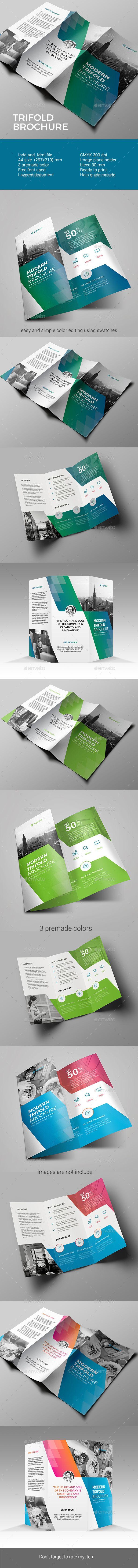 Trifold Brochure - Corporate Brochures Download here : https://graphicriver.net/item/trifold-brochure/19455096?s_rank=68&ref=Al-fatih