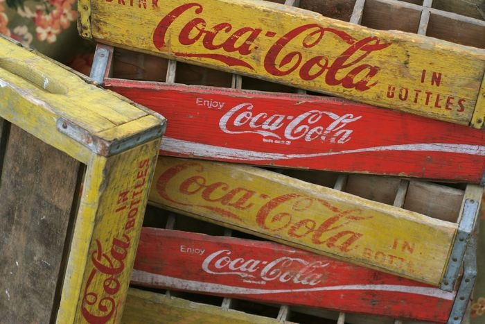 15 best images about soda crates all kinds on pinterest for Wooden soda crate ideas