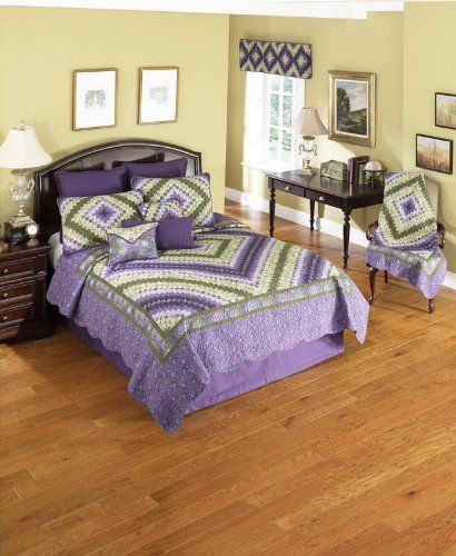 Donna Sharp Plum Trip Around the World 100Percent Cotton King Quilt -- You can get more details by clicking on the image.