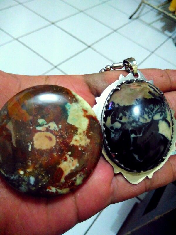 Just finished from workshop , pictorial jasper calcedony - garut indonesian