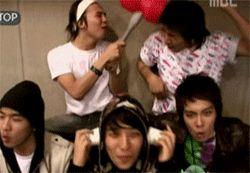 adorkable BIGBANG (gif)