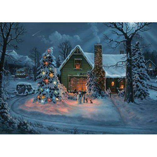 National Railroad Museum Winter Train Scene Christmas Card ...
