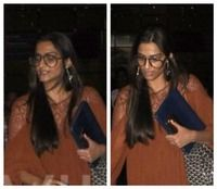 Yikes! What the hell is this I see? I mean seriously, this has got to be Sonam Kapoor's worst photo ever! <div><br><div>Sonam Kapoor was clicked unaware at the airport. She wore a brown coloured long dress with nerdy glasses which made this fashionista's look even worse. </div><div><br></div><div>Kudos to the power of good lighting and make up. Those two things really transform a celebrity's face. What do you think?</div></div> itimes.com