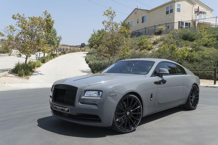 Rolls Royce Wraith Forgiato Wheels
