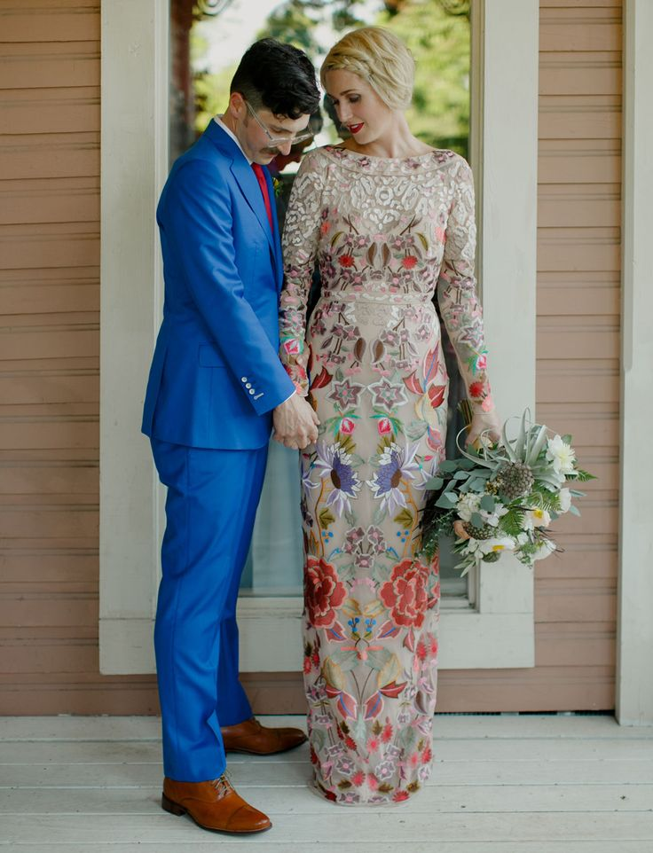 Temperley London dress for the bride