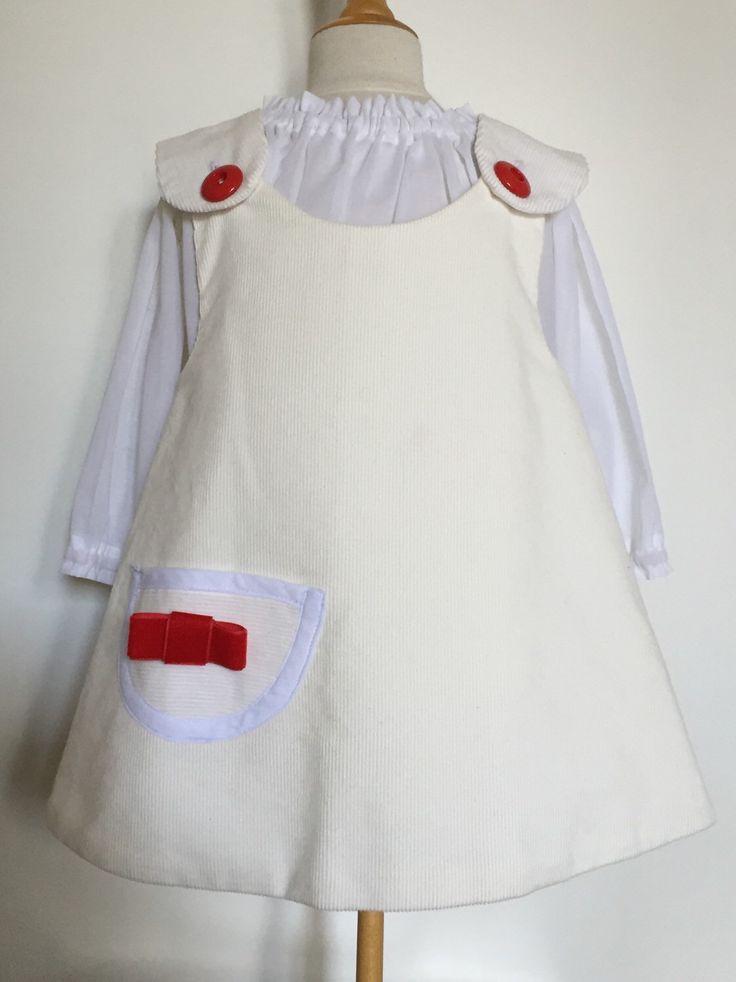 Un preferito personale dal mio negozio Etsy https://www.etsy.com/listing/211662908/vestito-grembiule-per-bambina