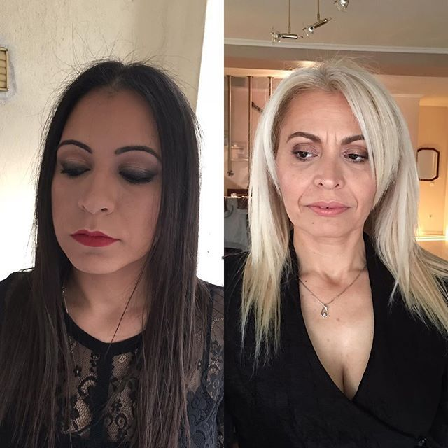 Mother & daughter!!!  #esteelauderdoublewear #maccosmetics #kryolan #makeupgeekcosmetics #bobbibrown #esteelauder #lorealparis #nyxcosmetics #inglotalbania #anastasiabeverlyhills #mua #makeup #makeupbyme #makeupbeauty #makeupartist #makeupinspiration #makeup___shoutouts #makeupismyobsession #makeupartistsworldwide #shoutoutforshoutout #wakeupandmakeup #worldmakeupartist #undiscovered_muas #universodamaquiagem_oficial  #albanianmua #AlbanianMakeUpArtist #greekmakeupartist #GreekMUA