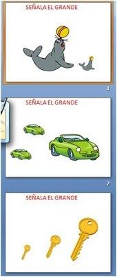 CONCEPTO GRANDE-PEQUEÑO