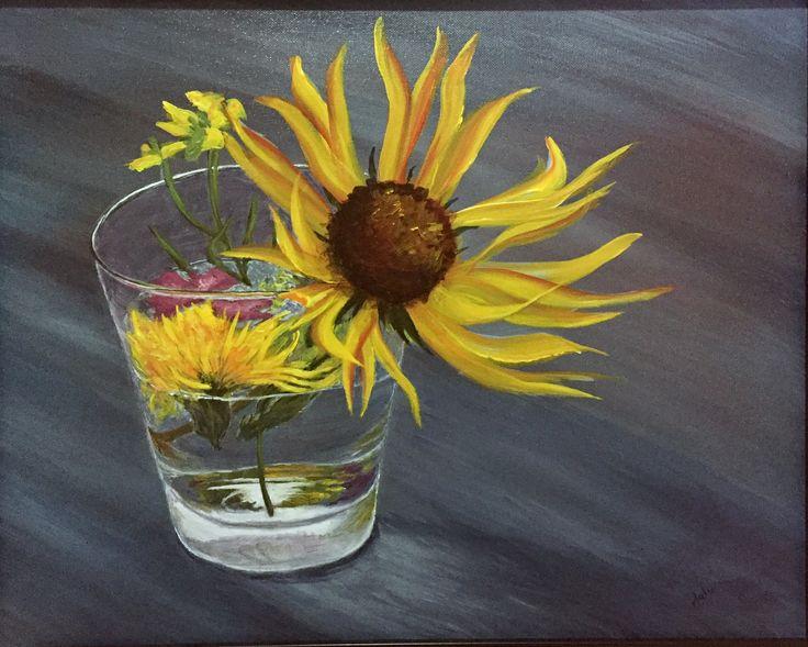 Mama's Bouquet (J.Lee, acrylic 2016)