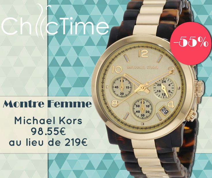 montre michael kors chic time