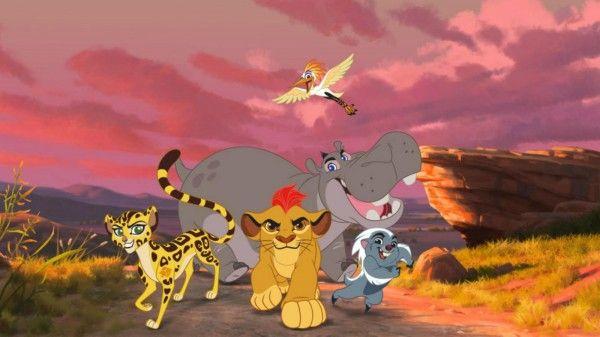 Nous sommes en train de regarder la suite du roi lion: #LaGardeDuRoi. la #Série passera sur #DisneyJunior #LeRoiLion