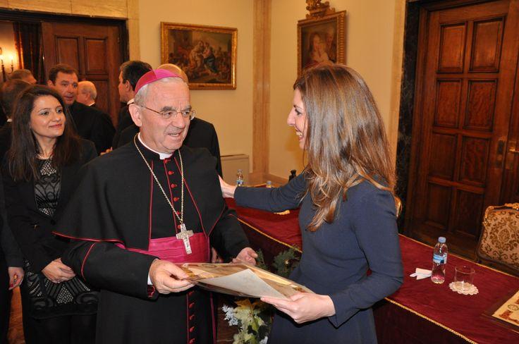Gran día en la Nunciatura Apostólica