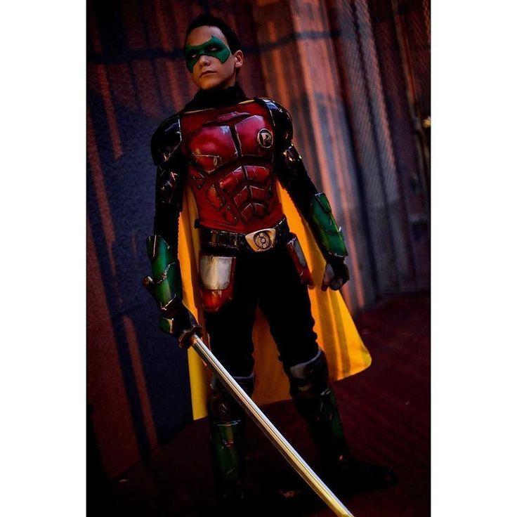 nightwing damian wayne cosplay - photo #7