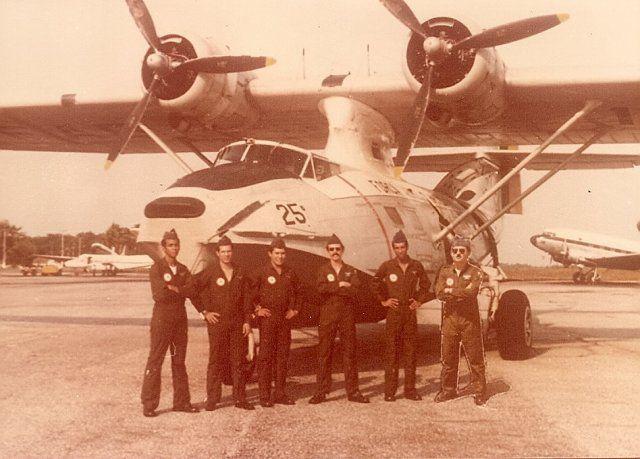 Brazilian Air Force Catalina circa 1981