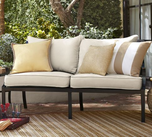 Pottery Barn Outdoor Couch For Screened In Porch