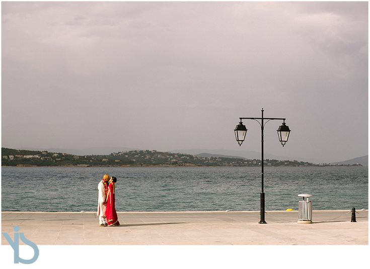 Indian wedding in Spetses island