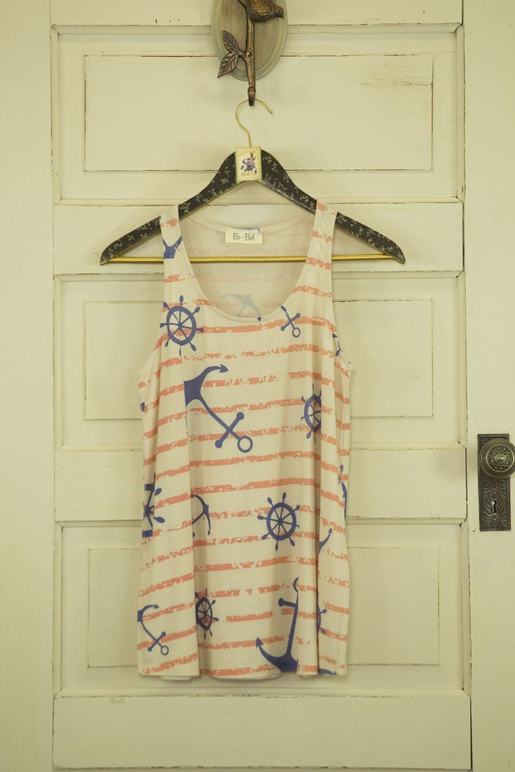 Anchors Away Nautical Theme Tank