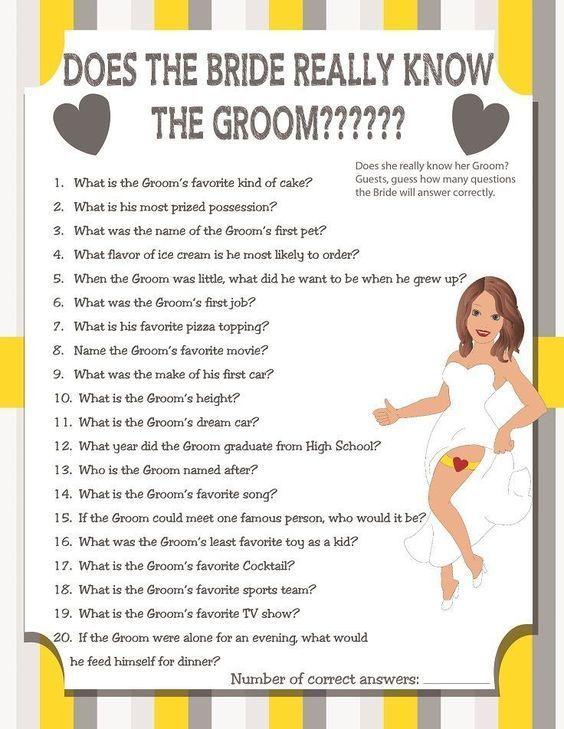 Bridal Shower Games #Weddingsgames