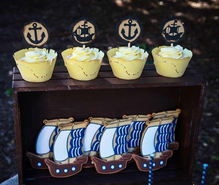 Pirate Party Birthday Party Ideas | Photo 1 of 18 | Catch My Party